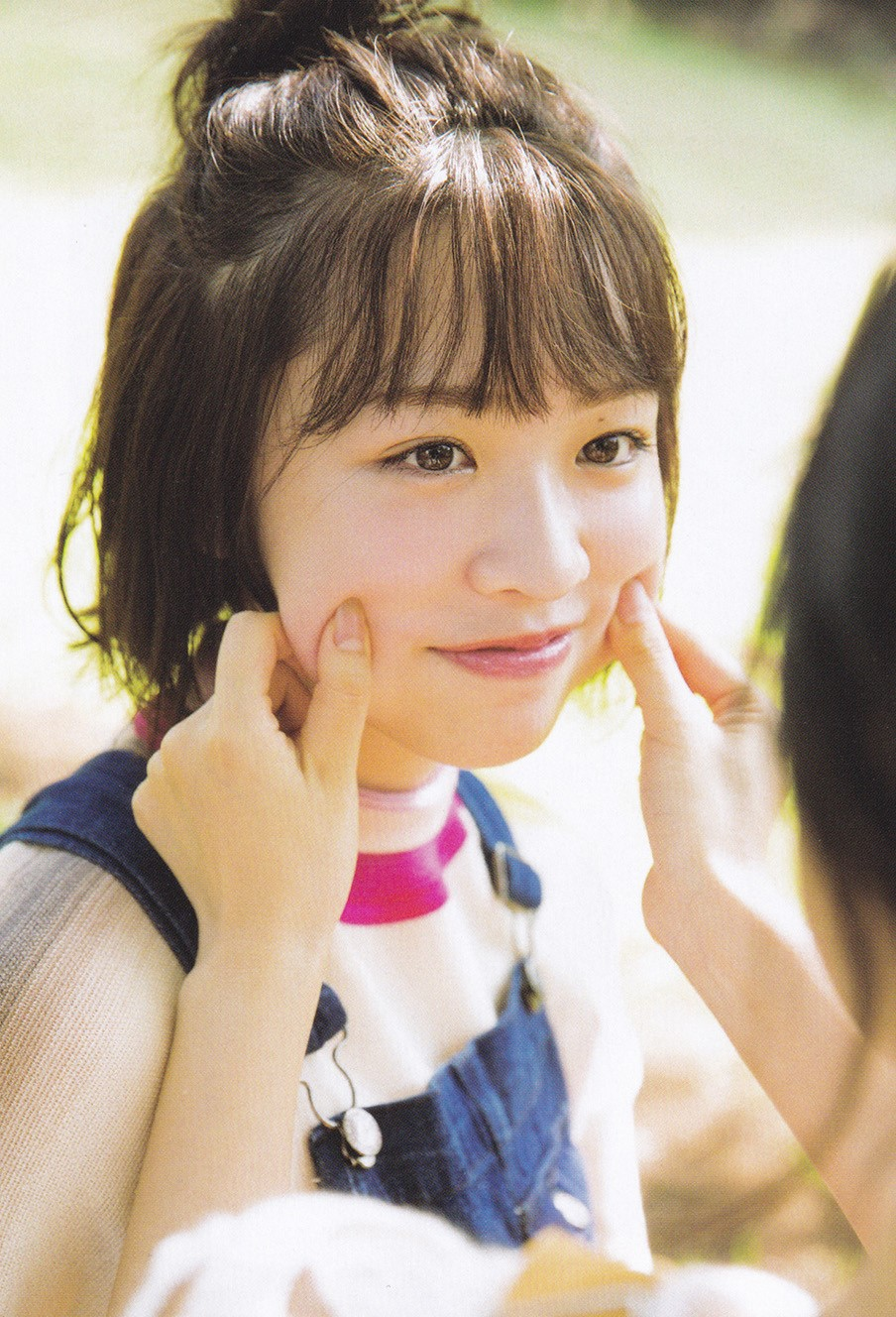 Terada Ranze 寺田蘭世, Watanabe Miria 渡辺みり愛, B.L.T 2017年11月号