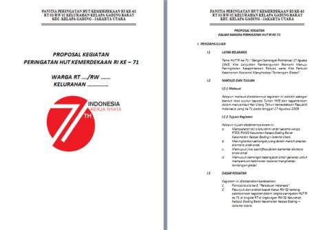 contoh proposal 17 agustus di sekolah