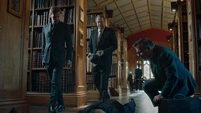 Endeavour Season 6 Roger Allam Shaun Evans Image 4