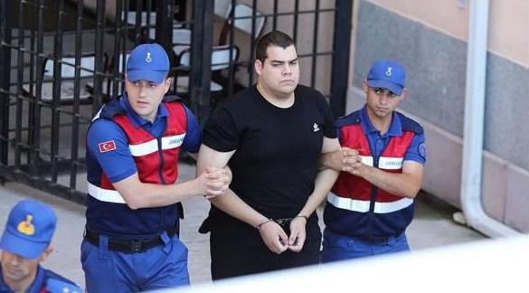 Απορρίφθηκε το τέταρτο αίτημα αποφυλάκισης των δύο Ελλήνων στρατιωτικών