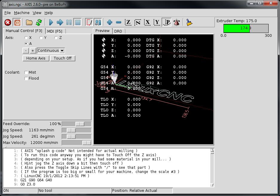 Machinekit Blog: 2013