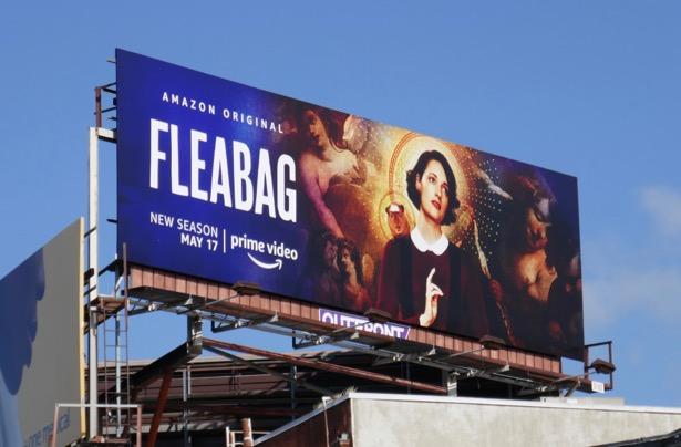 Fleabag season 2 billboard