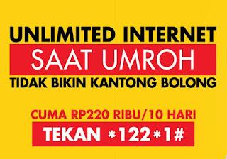 Harga dan Cara Daftar Paket Umroh Indosat Ooredoo 2019