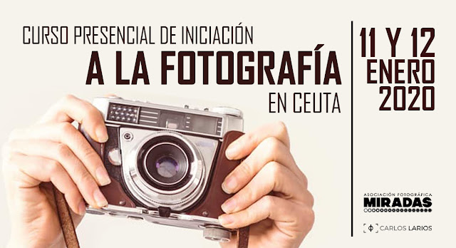 Curso presencial de Iniciación a la Fotografía, en Ceuta