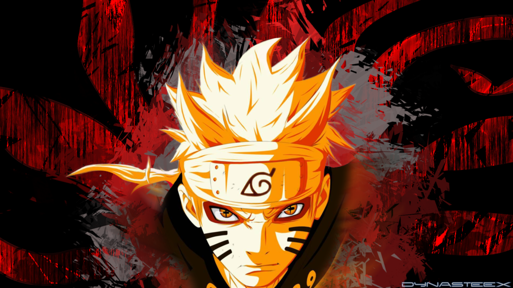 Fond D'écran Naruto Mode Bijuu