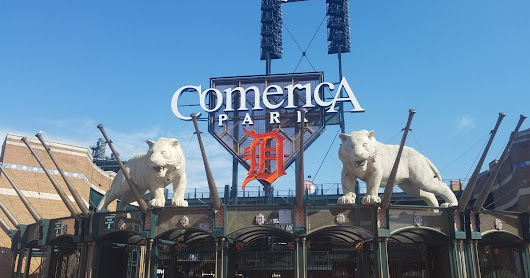 Comerica Park Guided Tour