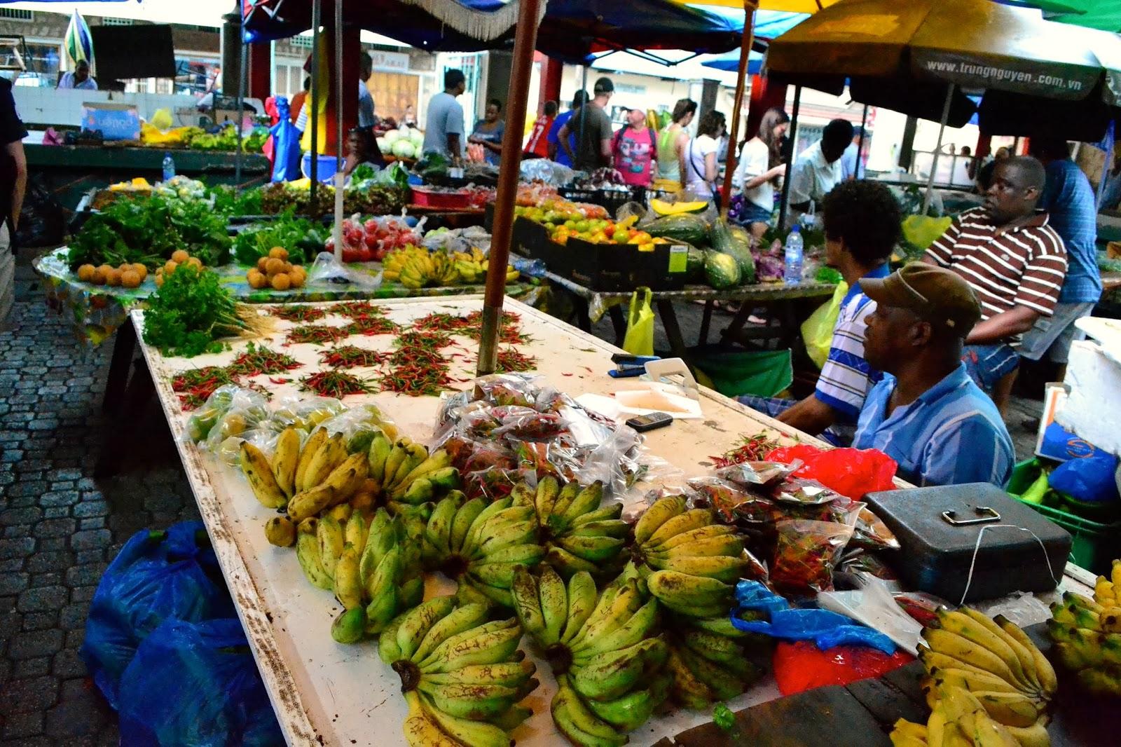 Mercado de Victoria, Seychelles