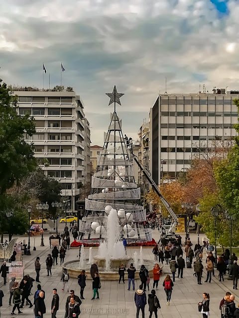Christmas In Athens by mariaparask29