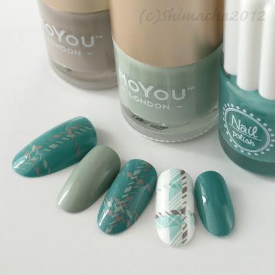 moyou london holy shapes collection, stamping nail, スタンピングネイル, ネイルスタンプ, 3コインズ