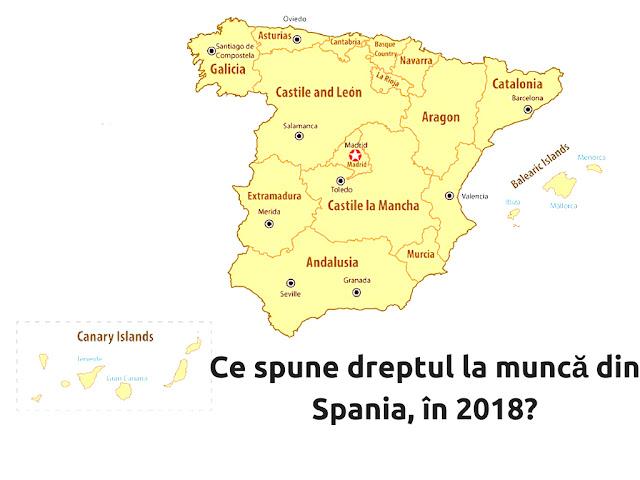 contracte de munca Spania 2018