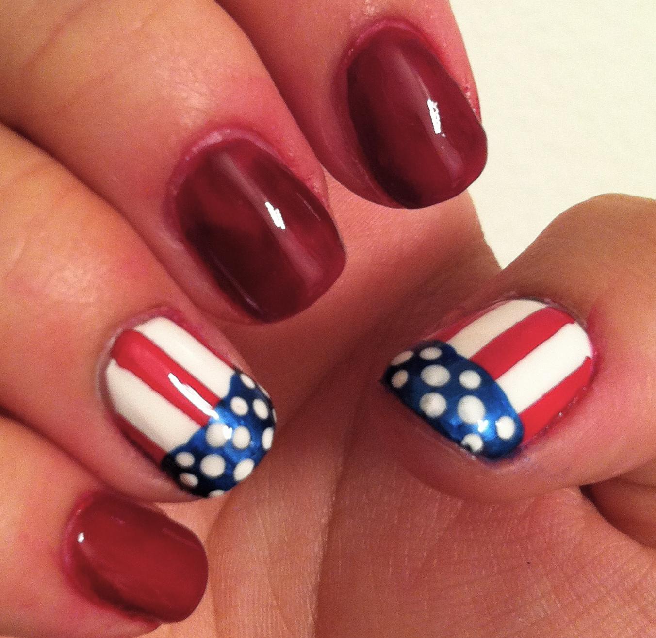 Handtastic Intentions: Nail Art: Patriotic Nail Designs!