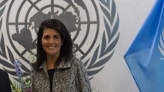 Η πρέσβειρα των ΗΠΑ στον ΟΗΕ
