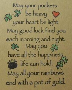 wishes for st patricks day