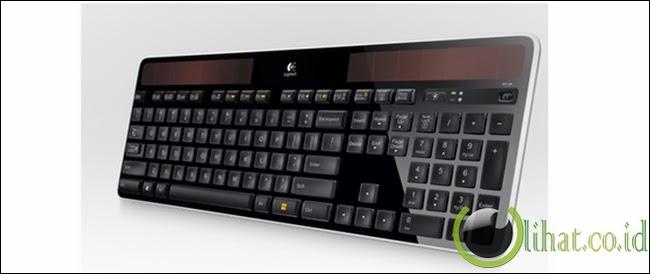Solar Powered Keyboard