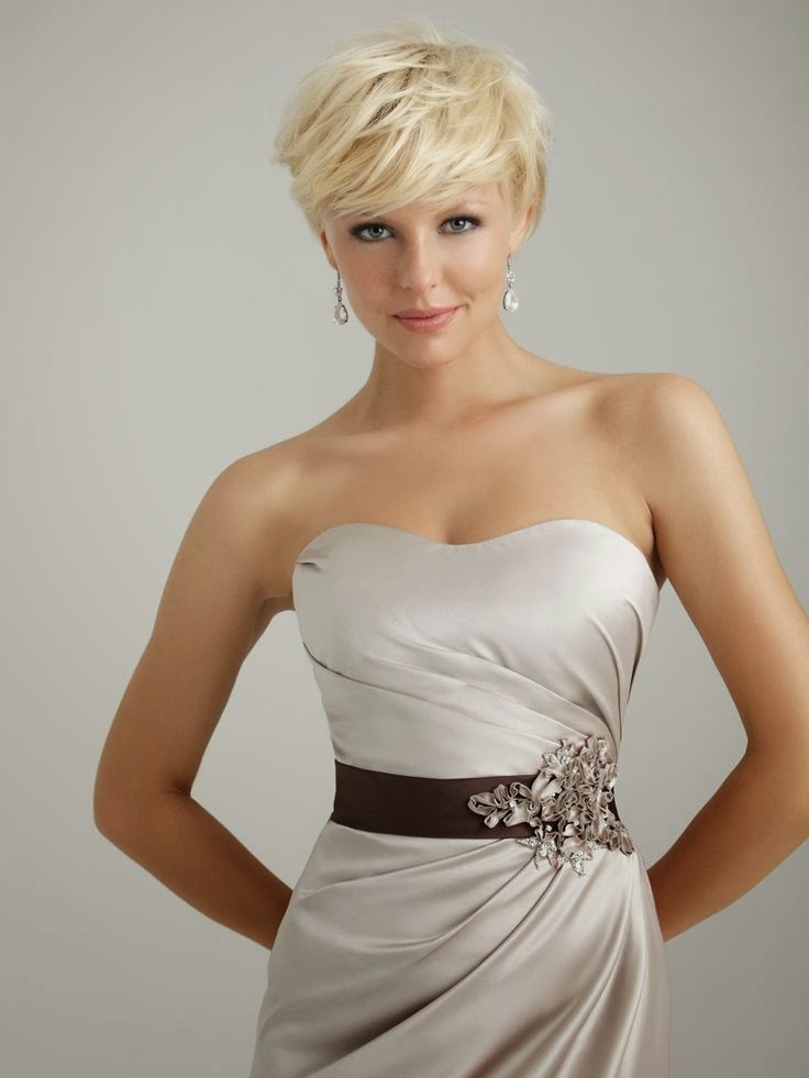 Brides With Short Hair Yes It Is True The Haircut Web