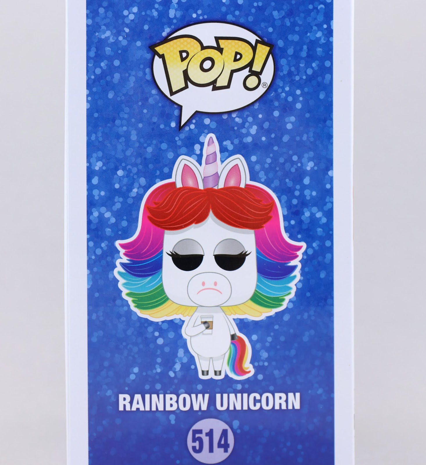 disney parks inside out rainbow unicorn funko pop