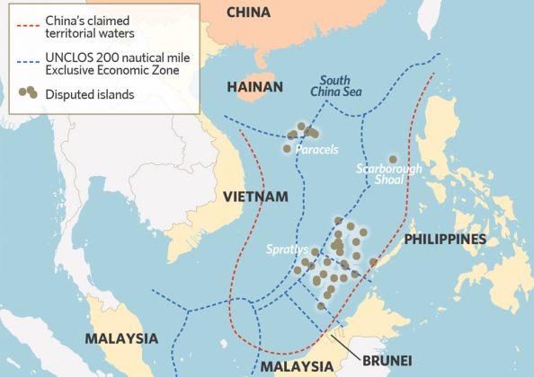 Pequim instalou mísseis em ilhas do Mar do Sul da China