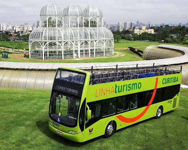 Conheça Curitiba pela Linha Turismo