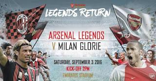 Nwankwo Kanu backs himself to score a hat-trick in Arsenal Legends charity match against AC Milan