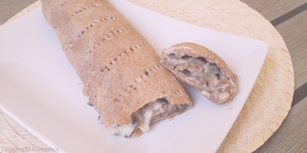 Strudel ai funghi Portobello e besciamella