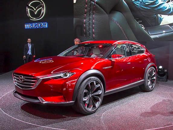 Mobil Mazda CX-7 2017