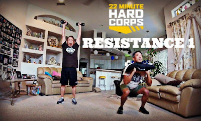 Day 2 Week One 22 Minute Hard Corps Challenge, 22 minute Hard Corps Resistance 1 Workouts, Beachbody PT Sandbag, Military Inspired Workout, Sandbag Workout