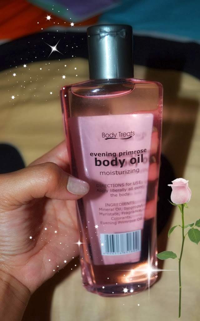 Body Treats Moisturizing Body Oil, body oil review