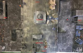 40k batrep GSCvsSWvsCSM Deployment