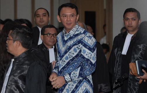 Jakarta Jailed Christian Governor Appeals Blasphemy Conviction