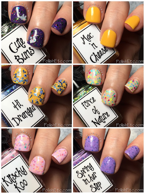 Whimsical Ideas by Pam - Spring 2018 - McPolish