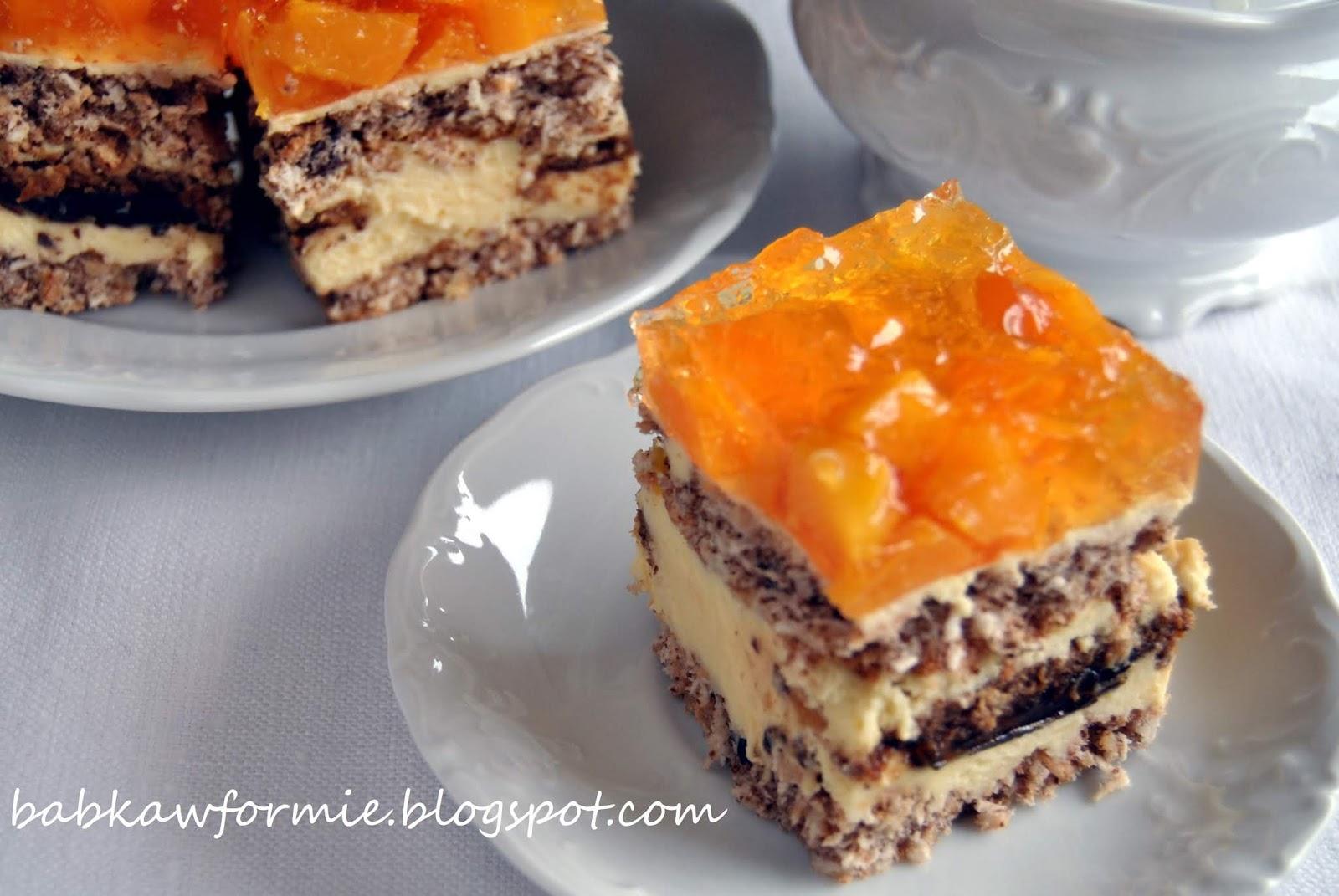 ciasto kora orzechowa babkawformie.blogspot.com