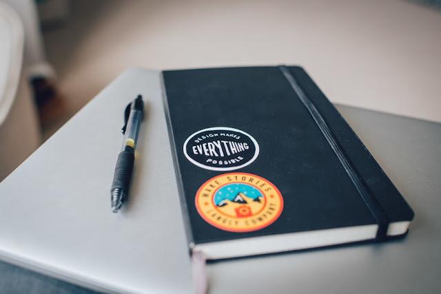 Mit einem Notizbuch kann man produktiv arbeiten