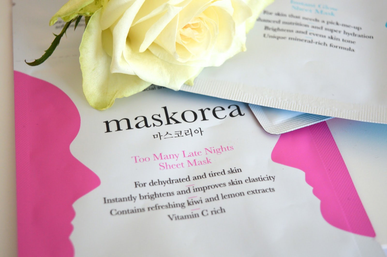 Maskorea Instant Glow Mask Review, Maskorea sheet mask review, beauty bloggers UK, UK beauty blog