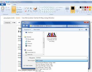 Aplikasi Ofline ini juga tidak kalah banyak dari yang online, namun sahabat tidak usah susah-susah instal atau pasang beberapa aplikasi kalau hanya untuk kompres gambar saja.  Sahabat bisa menggunakan aplikasi bawaan windows yang sudah ada terinstas di laptop atau komputer sahabat, yaitu Untitled Paint.  Keutamaan Untitled Paint yaitu kita bisa bisa memasukkan tambahan tulisan dan lain sebagainya, selain itu juga bisa melakukan Save As, dan menentukan sendiri tipe file, seperti JPG, PNG, GIF TIFF, dan lain sebagainya.