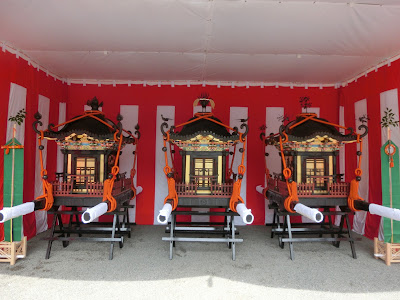 鶴岡八幡宮の神輿
