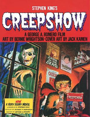 """Re-edición del cómic de terror """"Creepshow"""""""