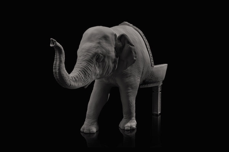 08-Baby-Elephant-Maximo-Riera-Animal-Shaped-Furniture-Chairs-and-Sofas-www-designstack-co
