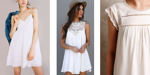 bieliźniane sukienki