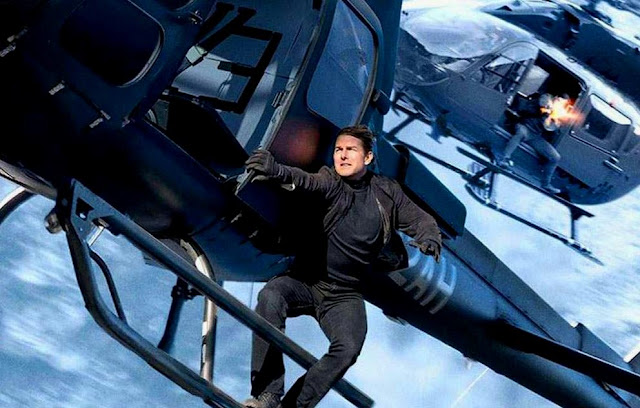 Tom Cruise as Ethan Hunt in Mission: Impossible - Fallout, Hellicopter Scene, Kashmir