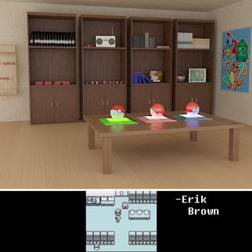 pokemon interior design