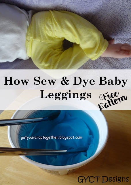 Dyeing & Sewing Your Own Leggings (FREE PATTERN)