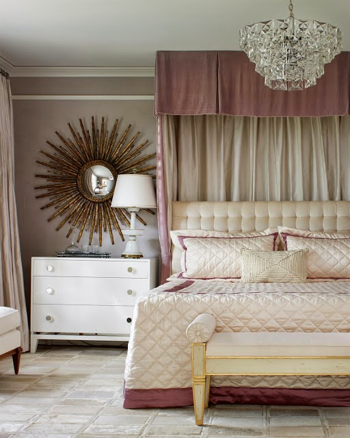 Girly Glam Bedroom Ideas: The Glam Pad: 35 Feminine Pink Bedrooms