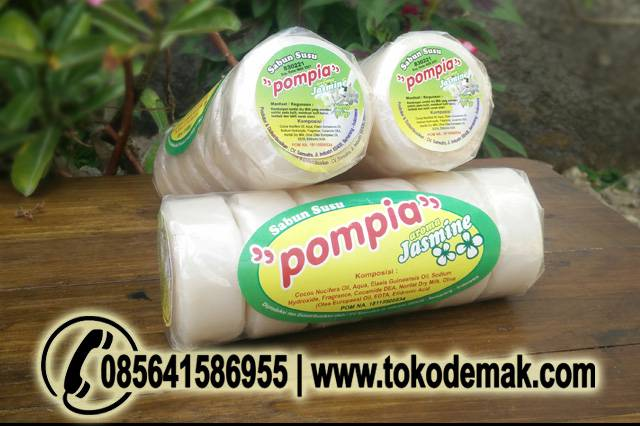 Sabun Muka Pompia Susu Jasmine