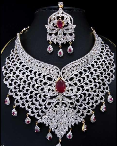 Latest Bridal Jewellery Designs sets Collection 2013 Pakistani