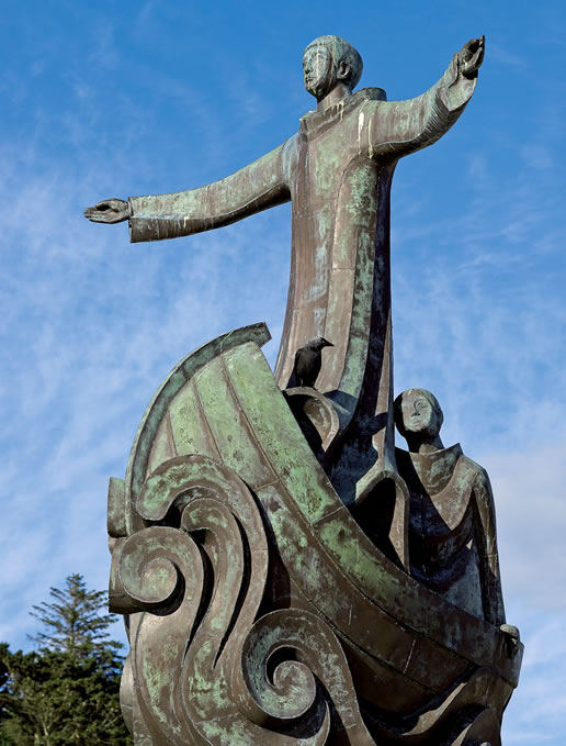 Statue of Brendan the navigator