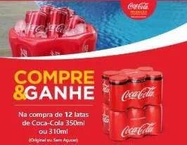 Promoção Coca-Cola 2019 Balde Inflável Compre Ganhe Brinde Exclusivo