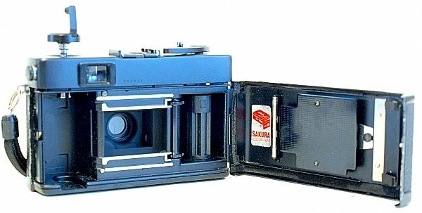 Konica C35 Automatic, Film box