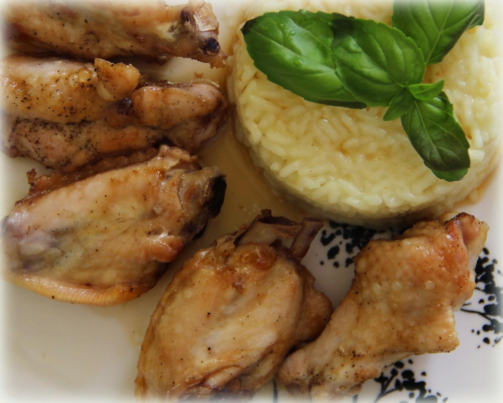 Skrzydełka w sosie sojowym (danie z piekarnika)