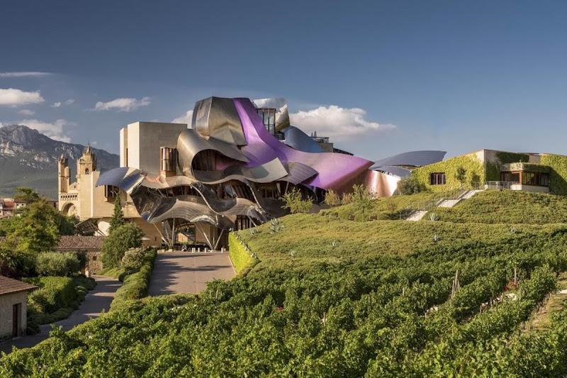 Hotel Marqués de Riscal. De Frank Gehry, en Rioja, España