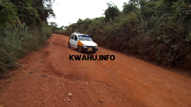 Poor Road Network at Kwahu Daa-Awirigya [Photos]
